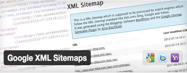 تنظیمات افزونه نقشه سایت Google XML Sitemaps