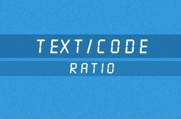 آیا نسبت متن به کد برای سئو مهم است؟