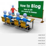 how-to-blog-blackboard-classroom